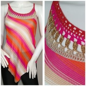 Knit Handkerchief Top